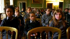 Headfort School students at assembly: