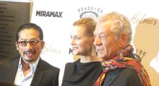 Hiroyuki Sanada with Laura Linney and Ian McKellen: 'Luckily, all of my scenes are with him, so I've had a great time'