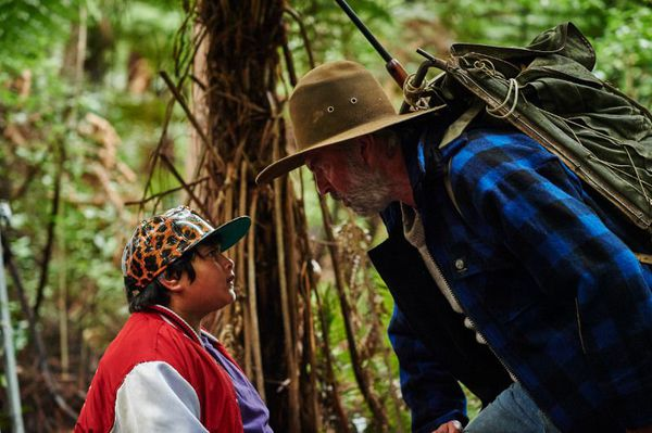 Julian Dennison and Sam Neill in Hunt For The Wilderpeople - Ricky is a defiant young city kid who finds himself on the run with his cantankerous foster uncle in the wild New Zealand bush. A national manhunt ensues, and the two are forced to put aside their differences and work together to survive in this heartwarming adventure comedy.