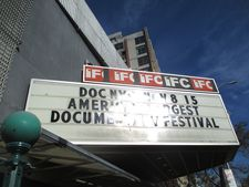 IFC Center marquee - DOC NYC