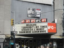 Studio 54 on the IFC Center marquee