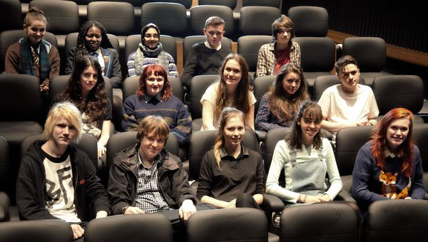 The Glasgow Youth Film Festival team for 2014