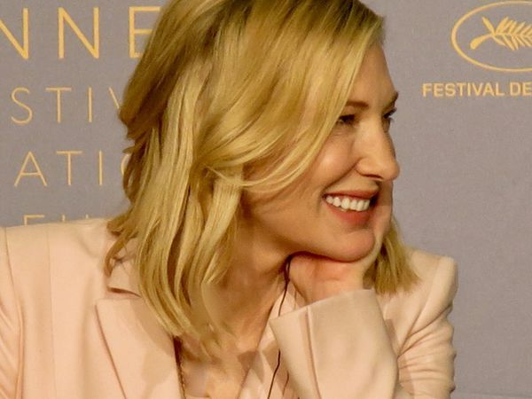 "Cate Blanchett: ""The Palme d'Or  will go to a film that has everything. You are awarding the performances, the direction, the cinematography and the script and the entire crew who made it possible."""