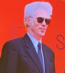 Jim Jarmusch on the red carpet