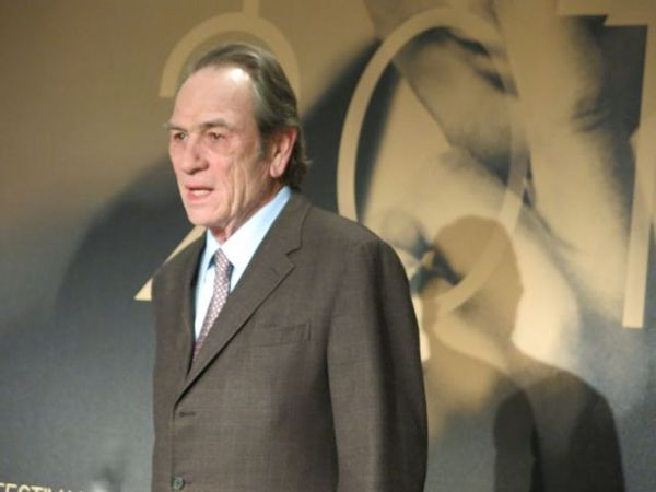"Tommy Lee Jones meets the media in Cannes: """"There have been a lot of bad Westerns made. And that's made it difficult for me ..."""