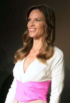 "Hilary Swank: """"I am always looking for authenticity. Many of the characters I have played have been intense and strong – and this is another one. """