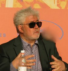 Pedro Almodóvar at the Pain And Glory Cannes press conference