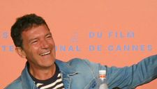 Antonio Banderas at the Pain And Glory Cannes press conference