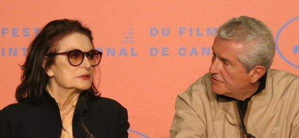 Together again after all these years - Anouk Aimée and Claude Lelouch