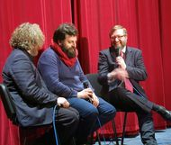 Matteo Oleotto Q&A at Filmhouse - photo by Giorgio Mirando