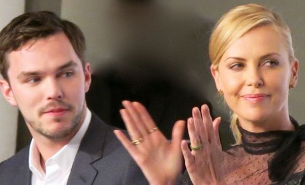 Nicholas Hoult and Charlize Theron in Cannes for Mad Max: Fury Road