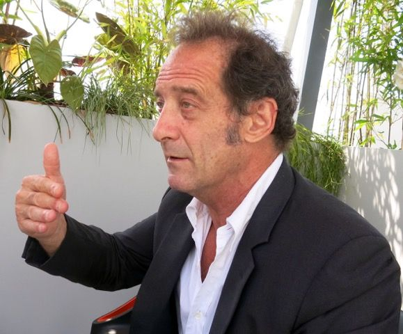 "Vincent Lindon: """"I will only work if the script is good.  I receive propositions every week but I don't do them."""