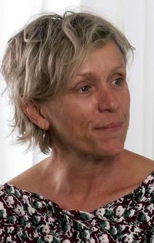 "Frances McDormand: ""The more we say we need help, the less power 