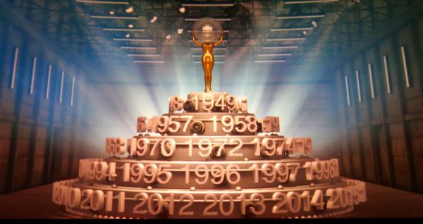 A spectacular montage on film traced the history of the Karlovy Vary international Film Festival over its half century