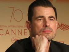 Lead actor Claes Bang in Cannes for The Square.