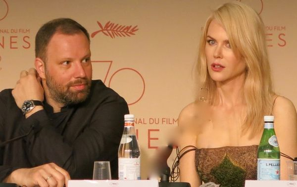 Yorgos Lanthimos and Nicole Kidman talk about The Killing of the Sacred Deer at the Cannes Film Festival