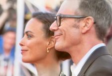 Michel Hazanavicius and Berenice Béjo greet the crowds at the Deauville Festival of American Cinema