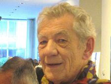 Ian McKellen attended the optics and Vermeer symposium at NYU in 2001 when David Hockney presented