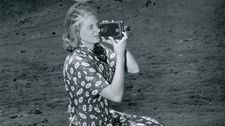"Ingrid Bergman: ""She is really a modern filmmaker, letting this camera walk around …"""