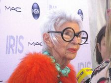 "Iris Apfel on Albert Maysles: ""Oh, he [Albert] was the greatest. I'm very lucky, very lucky."""