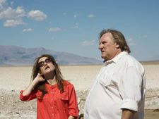 "Isabelle with Gérard Depardieu: ""Then as it goes, she uses clothes more as equipment."""