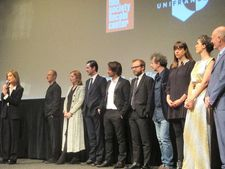 Isabelle Huppert introduces Valley Of Love at the Walter Reade Theater