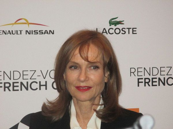 Valley of Love star Isabelle Huppert