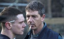Jack O'Connell (Eric) with Ben Mendelsohn (Neville) in Starred Up