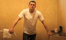Jack O'Connell as Eric Love in Starred Up.