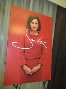 Jackie US poster at the Peninsula Hotel on Fifth Avenue