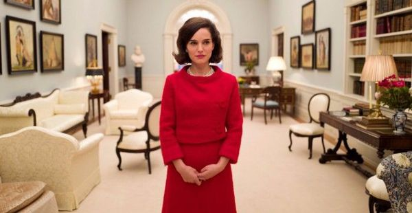 Natalie Portman as First Lady Jackie Kennedy