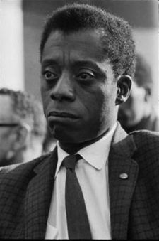 "James Baldwin: ""He was a ferocious writer in that his writing was angry but eloquent."""