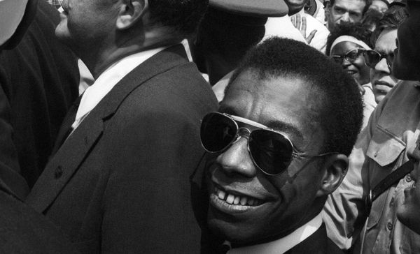 "Gay Talese on James Baldwin: ""Baldwin had his words and his voice in the forefront of the change in American politics."""