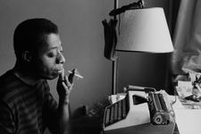 "Gay Talese on James Baldwin: ""In the documentary he was thinking, pausing. In his writing, of course, there's no pauses."""