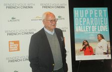 James Ivory on the Valley Of Love red carpet