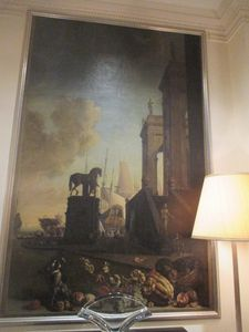 "Matthew Miele on the Jan Weenix paintings in The Carlyle lobby: ""You sit right next to them!"""