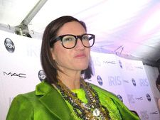 "Jenna Lyons on Albert Maysles: ""I have to say he's one of my favorite directors."""