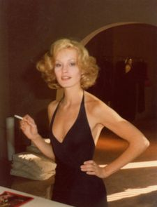 "Jessica Lange in the film on Antonio Lopez: ""And when I say I had a crush on him, I mean it!"""