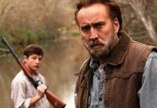 Nicolas Cage with Tye Sheridan as Joe and Gary in David Gordon Green's Joe