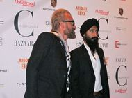 Johan Lindeberg and Waris Ahluwalia - photo by Anne-Katrin Titze