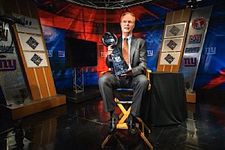 Tiffany Super Bowl trophy - NY Giants John Mara (Kate and Rooney's dad)