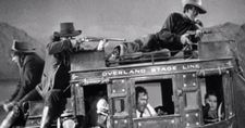 John Wayne as Ringo Kid in John Ford's Stagecoach