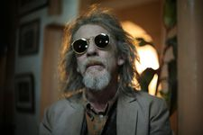 John Hurt also worked with Tilda Swinton in Only Lovers Left Alive: