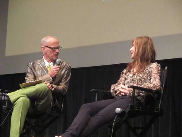 "John Waters gets serious with Isabelle Huppert at the Film Society of Lincoln Center: ""So Michael Haneke, he's a a real laugh riot, I bet?"""