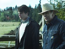Jonathan Groff as Samuel with Dean Stockwell as Hobbs talking apples.