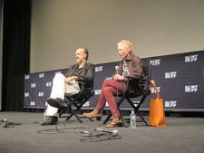 New York Film Festival Bastards press conference with Kent Jones and Claire Denis