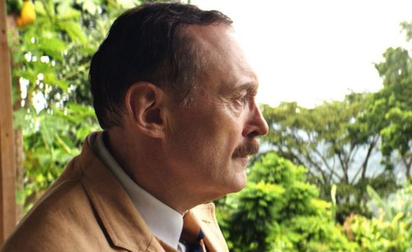 "Stefan Zweig (Josef Hader) - ""He was considered one of the greatest travelers, the big European mastermind of the European Union."""