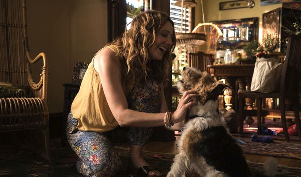Judy Greer as Shelly with Pepper in Craig Johnson's Wilson