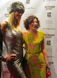 Gotham Awards - Julia Loktev and model - photo by Anne-Katrin Titze