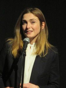 Julie Gayet introducing Cinéast(e)s at the French Institute Alliance Française in New York: